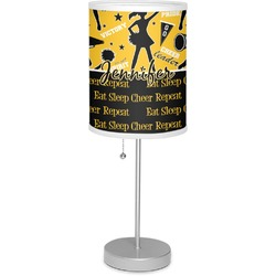 "Cheer 7"" Drum Lamp with Shade (Personalized)"