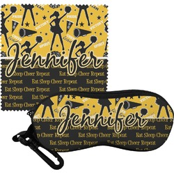 Cheer Eyeglass Case & Cloth (Personalized)