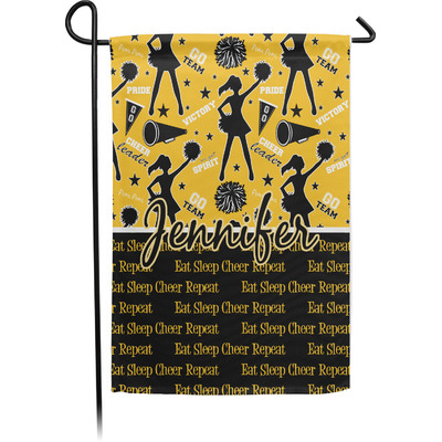 Cheer Garden Flag - Single or Double Sided (Personalized)
