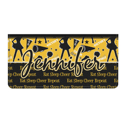 Cheer Genuine Leather Checkbook Cover (Personalized)