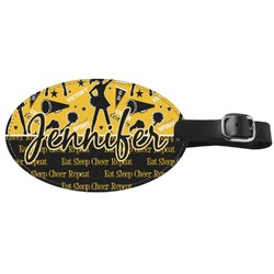 Cheer Genuine Leather Luggage Tag (Personalized)