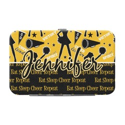 Cheer Genuine Leather Small Framed Wallet (Personalized)