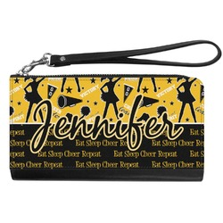 Cheer Genuine Leather Smartphone Wrist Wallet (Personalized)