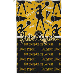 Cheer Golf Towel - Full Print - Small w/ Name or Text