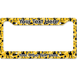 Cheer License Plate Frame - Style B (Personalized)