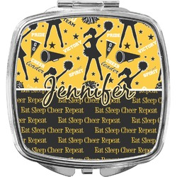 Cheer Compact Makeup Mirror (Personalized)