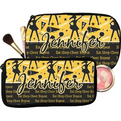 Cheer Makeup / Cosmetic Bag (Personalized)