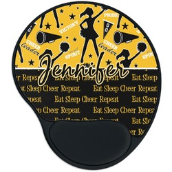 Cheer Mouse Pad with Wrist Support