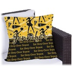 Cheer Outdoor Pillow (Personalized)