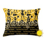 Cheer Outdoor Throw Pillow (Rectangular) (Personalized)