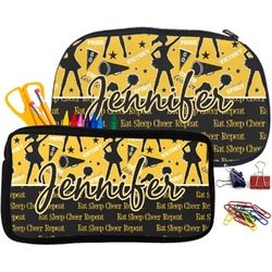 Cheer Pencil / School Supplies Bag (Personalized)