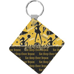 Cheer Diamond Key Chain (Personalized)