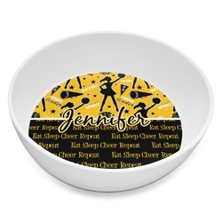 Cheer Melamine Bowl 8oz (Personalized)