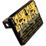 """Cheer Rectangular Trailer Hitch Cover - 2"""" (Personalized)"""