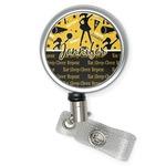 Cheer Retractable Badge Reel (Personalized)