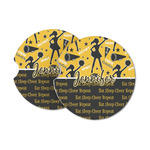 Cheer Sandstone Car Coasters (Personalized)