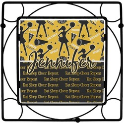 Cheer Square Trivet (Personalized)