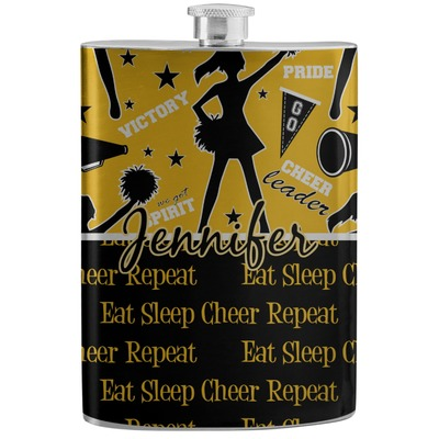 Cheer Stainless Steel Flask (Personalized)