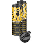Cheer Stainless Steel Skinny Tumbler (Personalized)