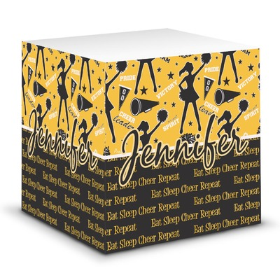 Cheer Sticky Note Cube (Personalized)