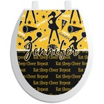 Cheer Toilet Seat Decal (Personalized)