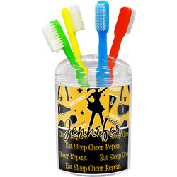 Cheer Toothbrush Holder (Personalized)