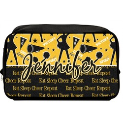 Cheer Toiletry Bag / Dopp Kit (Personalized)
