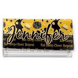 Cheer Vinyl Checkbook Cover (Personalized)