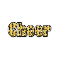 Cheer Name/Text Decal - Custom Sizes (Personalized)