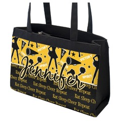 Cheer Zippered Everyday Tote (Personalized)
