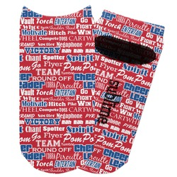 Cheerleader Adult Ankle Socks (Personalized)