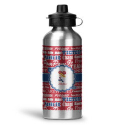Cheerleader Water Bottle - Aluminum - 20 oz (Personalized)