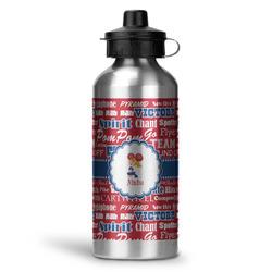 Cheerleader Water Bottle - Aluminum - 20 oz (Personalized)