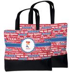 Cheerleader Beach Tote Bag (Personalized)
