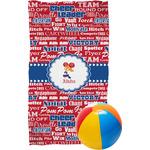 Cheerleader Beach Towel (Personalized)