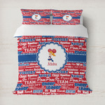 Cheerleader Duvet Cover (Personalized)