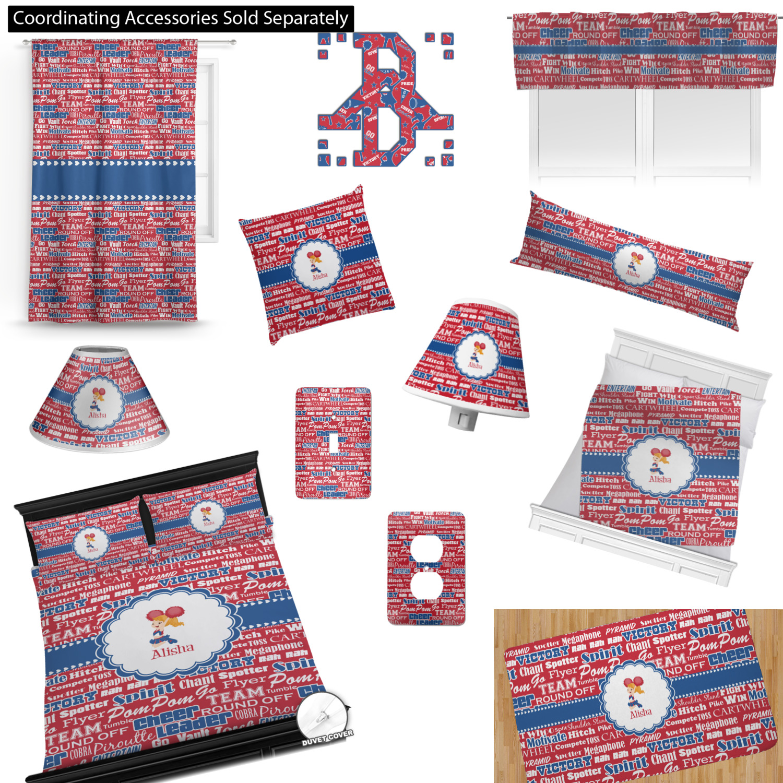 Cheerleader Comforters Personalized Youcustomizeit