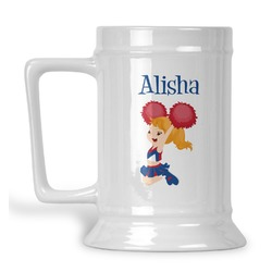 Cheerleader Beer Stein (Personalized)