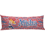 Cheerleader Body Pillow Case (Personalized)