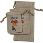 Cheerleader Burlap Gift Bags (Personalized)