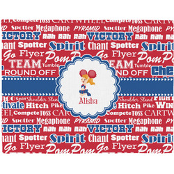 Cheerleader Placemat (Fabric) (Personalized)
