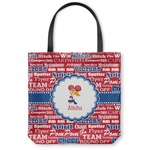 Cheerleader Canvas Tote Bag (Personalized)