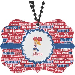 Cheerleader Rear View Mirror Charm (Personalized)