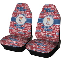Cheerleader Car Seat Covers (Set of Two) (Personalized)