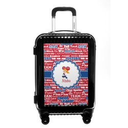 Cheerleader Carry On Hard Shell Suitcase (Personalized)