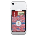 Cheerleader 2-in-1 Cell Phone Credit Card Holder & Screen Cleaner (Personalized)