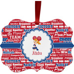Cheerleader Ornament (Personalized)