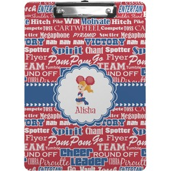 Cheerleader Clipboard (Personalized)