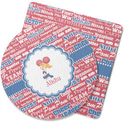 Cheerleader Rubber Backed Coaster (Personalized)