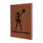 Cheerleader Leatherette Journal (Personalized)